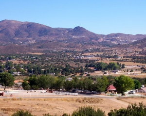 Summer in the high desert of Southern California