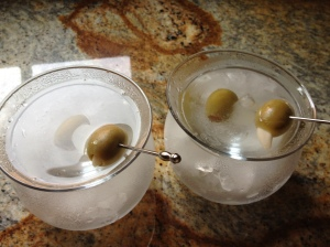 A great martini has to be icy cold  without being watered down!