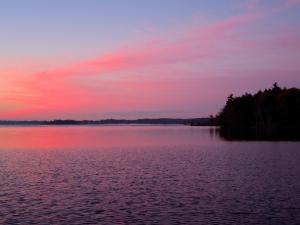 Red sky at dawn