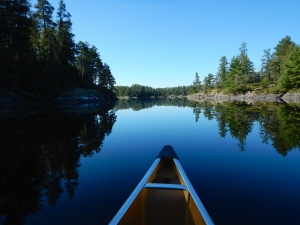 Early morning serenity in the Boundary Waters Canoe Area Wilderness