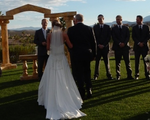 An autumn wedding in Las Vegas, NV