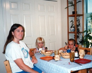 Family meals are just one of so many moments that go into being a mom